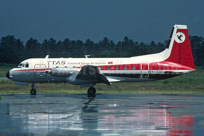 TTAS-Trinidad and Tobago Air Services Hawker Siddeley HS.748-347 Series 2A 9Y-TGI (msn 1767) POS (Richard Vandervord). Image: 937826.