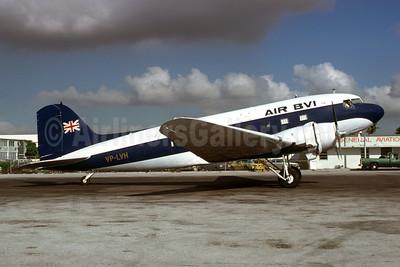 Air BVI Douglas DC-3-208 VP-LVH (msn 1963) MIA (Bruce Drum). Image: 103570.