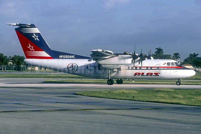 ALAS (Panama) de Havilland Canada DHC-7-102 Dash 7 HP1250AHC (msn 26) FLL (Christian Volpati Collection). Image: 936831.