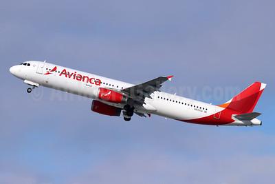 Avianca (Colombia) Airbus A321-231 N570TA (msn 3869) LAX (Michael B. Ing). Image: 955105.