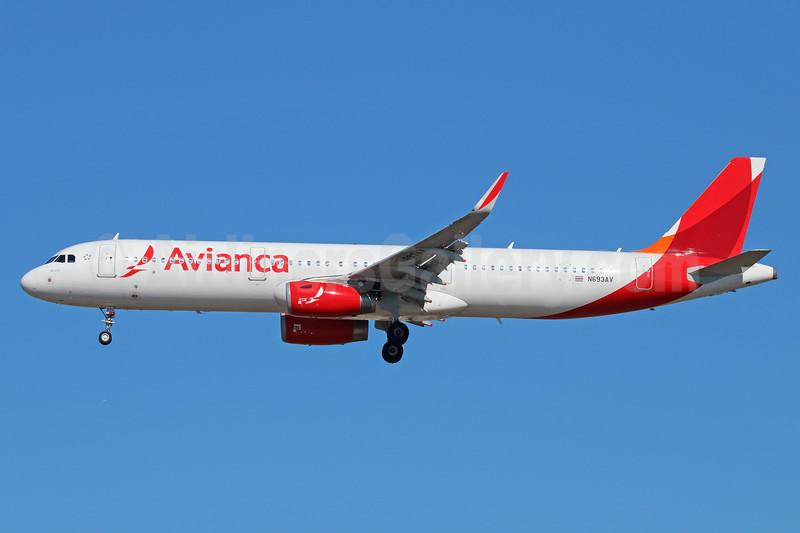 Avianca (Colombia) Airbus A321-231 WL N693AV (msn 6002) LAX (Michael B. Ing). Image: 937567.