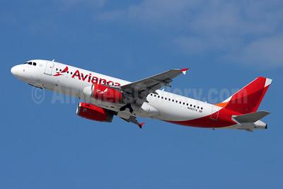 Avianca (Costa Rica) Airbus A320-233 N493TA (msn 2917) LAX (Michael B. Ing). Image: 955533.