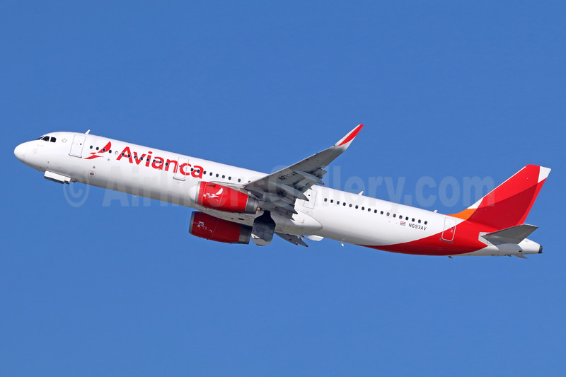 Avianca (Colombia) Airbus A321-231 WL N693AV (msn 6002) LAX (Michael B. Ing). Image: 937566.