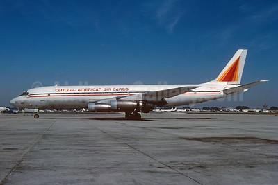 Central American Air Cargo (SERCA) McDonnell Douglas DC-8-33 (F) N124AJ (msn 45626) MIA (Bruce Drum). Image: 103668.