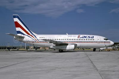 LACSA Costa Rica Boeing 737-242 N238TA (msn 22075) MIA (Bruce Drum). Image: 105110.