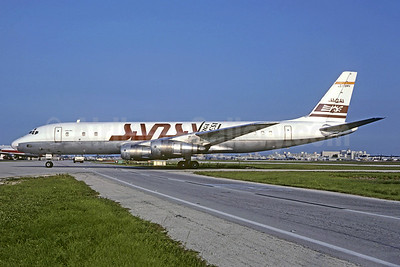 SANSA Carga (Costa Rica) (Iberia) McDonnell Douglas DC-8-55 (F) EC-BMV (msn 45965) MIA (Christian Volpati Collection). Image: 945948.