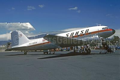 SANSA Douglas C-47-DL (DC-3) TI-SAA (msn 4231) SJO (Christian Volpati). Image: 945946.
