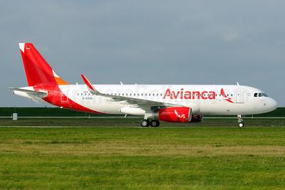 Avianca (El Salvador) Airbus A320-233 WL D-AXAS (N603AV) (msn 5840) (Sharklets) XFW (Gerd Beilfuss). Image: 920962.