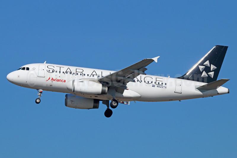 Avianca (El Salvador) Airbus A319-132 N522TA (msn 5219) (Star Alliance) LAX (Michael B. Ing). Image: 937568.