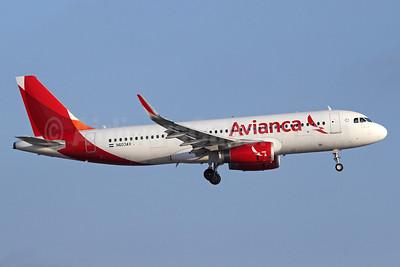 Avianca (El Salvador) Airbus A320-233 WL N603AV (msn 5840) LAX (Michael B. Ing). Image: 923439.