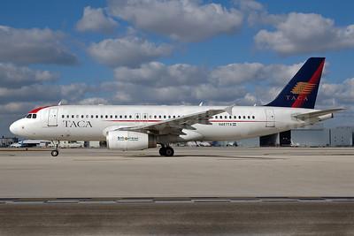 TACA International Airbus A320-233 N487TA (msn 2084) MIA (Bruce Drum). Image: 100660.