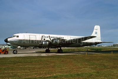 TACA Cargoliner (TACA International) Douglas DC-6B (F) YS-39C (msn 45217) MIA (Bruce Drum). Image: 102847.