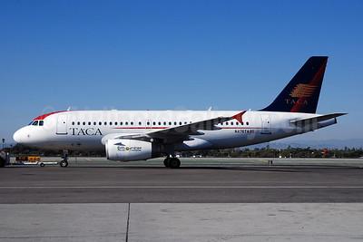 TACA International Airbus A319-132 N476TA (msn 1934) LAX (Bruce Drum). Image: 100340.