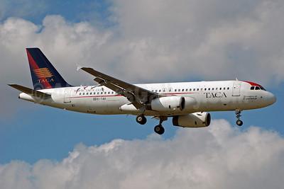 TACA International Airbus A320-233 EI-TAB (msn 1624) MIA (Bruce Drum). Image: 100658.