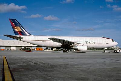 TACA International (JHM Airlines Cargo) Airbus A300B4-203 (F) N59107 (msn 107) MIA (Bruce Drum). Image: 102854.