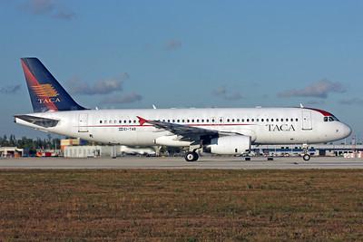 TACA International Airbus A320-233 EI-TAB (msn 1624) MIA (Brian McDonough). Image: 901876.