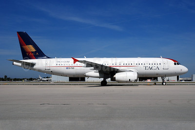 TACA International Airbus A320-233 EI-TAD (msn 1334) MIA (Bruce Drum). Image: 100334.