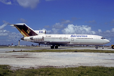 Aerovias (Guatemala) Boeing 727-76 TG-ANP (msn 18742) MIA (Christian Volpati Collection). Image: 945592.