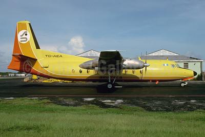 Aviateca Fokker F.27 Mk. 200 TG-AEA (msn 10179) MIA (Bruce Drum). Image: 103799.