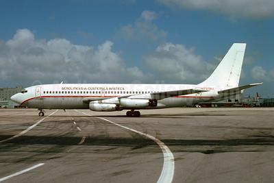 Aviateca-Aerolineas de Guatemala Boeing 720-022 N7218U  (msn 18050) MIA (Bruce Drum). Image: 103808.