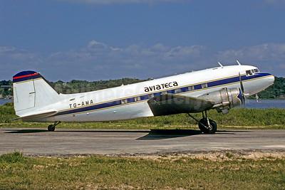 Aviateca Douglas C-47A-D (DC-3) TG-AMA (msn 13484) (Norcanair colors) FRS (Christian Volpat). Image: 920208.
