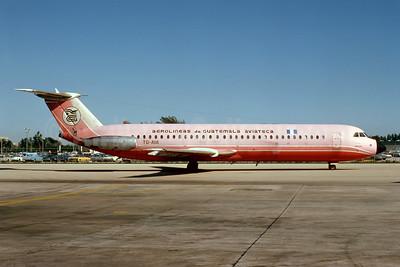 Aviateca-Aerolineas de Guatemala BAC 1-11 518FG TG-AVA (msn 206) MIA (Bruce Drum). Image: 103807.