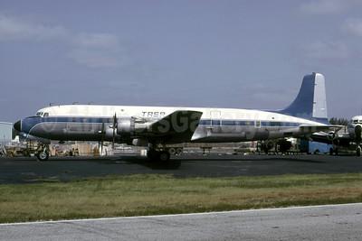 TASA (Transportes Aéreos S.A.) Douglas DC-6A N9232Z (TG-COC) (msn 44915) (Trans Union colors) MIA (Bruce Drum). Image: 105520.