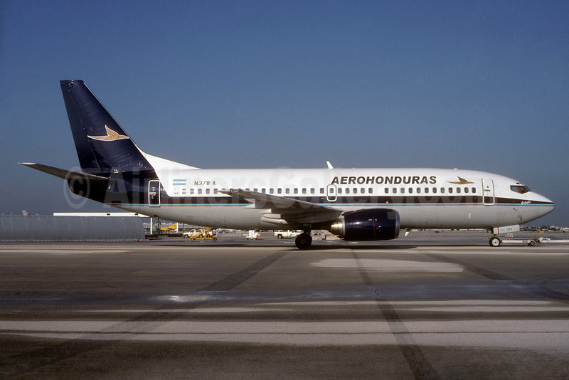 "Named ""Gabriela"", airline name changed on July 5, 2004"