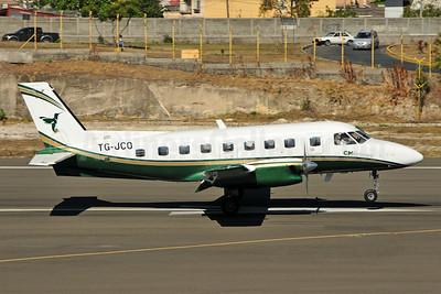 CM Airlines Embraer EMB-110P1 Bandeirante TG-JCO (msn 110354) TGU (Ken Petersen). Image: 952056.