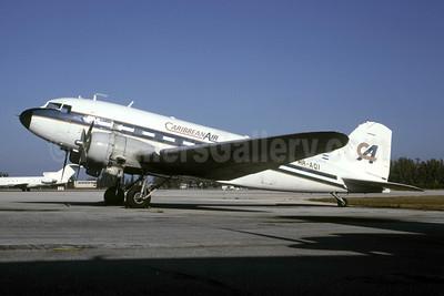 Caribbean Air (Honduras) Douglas C-49E-DO (DC-3) HR-AQI (msn 2216) OPF (Bruce Drum). Image: 105463.