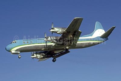 SAHSA Carga Lockheed 188A (F) Electra HR-SAV (msn 1060) MIA (Bruce Drum). Image: 105358.