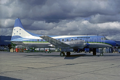 SAHSA (Servicio Aereo de Honduras S.A.) Convair 580 HR-SAY (msn 33) TGU (Christian Volpati Collection). Image: 936439.