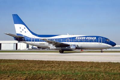 SAHSA (Servicio Aereo de Honduras S.A.) Boeing 737-217 N3160M (msn 20197) MIA (Bruce Drum). Image: 104389.