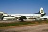TAN Airlines (Transportes Aereos de Nacionales) (Honduras) Lockheed 188C Electra HR-TNL (msn 1134) MIA (Bruce Drum). Image: 103458.