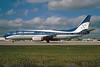 TAN Airlines - SAHSA (Transportes Aereos de Nacionales) (Honduras) Boeing 737-4Y0 HR-SHK (msn 24691) MIA (Bruce Drum). Image: 103460.