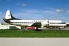 TAN Airlines (Transportes Aereos de Nacionales) (Honduras) Lockheed 188C Electra HR-TNL (msn 1134) MIA (Bruce Drum). Image: 103455.