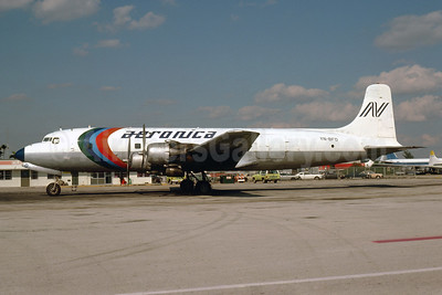 Aeronica Douglas DC-6B (F) YN-BFO (msn 45324) MIA (Bruce Drum). Image: 103548.