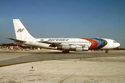 Aeronica Boeing 720-051B YN-BYI (msn 18688) MIA (Bruce Drum). Image: 104829.