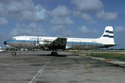 LANICA Nicaragua (Lineas Aereas de Nicaragua) Douglas DC-6B (F) AN-BFO (msn 45324) MIA (Bruce Drum). Image: 103823.