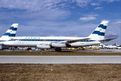 LANICA (Lineas Aereas de Nicaragua) Convair 880-22-1 AN-BIB (msn 9) MIA (Bruce Drum). Image: 103841.
