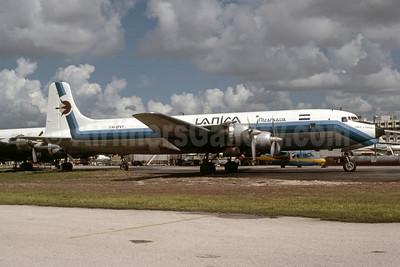 """Cmdte. G. Pomares"", made a hard landing at Panama City on November 13, 1980 (WO)"
