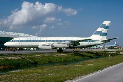 LANICA (Lineas Aereas de Nicaragua) Convair 880-22-1 AN-BIA (msn 39) MIA (Bruce Drum). Image: 103840.