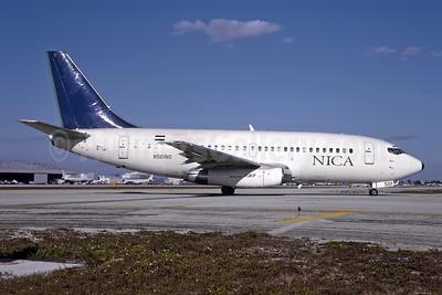 NICA Nicaragua Boeing 737-2T5 N501NG (msn 22395) MIA (Bruce Drum). Image: 105105.