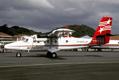 Air Panama (2nd) de Havilland Canada DHC-6-300 Twin Otter HP-1507PS (msn 532) PAC (Christian Volpati). Image: 941038.