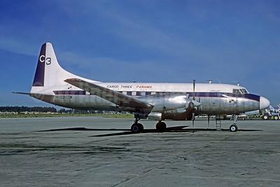 Cargo Three Panama - C3 Convair 580 HP-1221-CTW (msn 169) BOG (Richard Vandervord). Image: 952040.