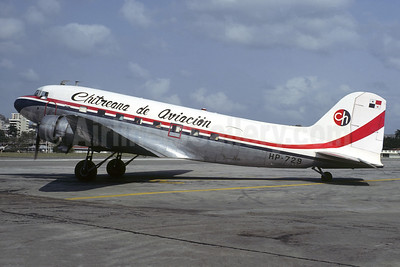 Chitreana de Aviación Douglas C-53-DO (DC-3) HP-729 (msn 7392) CTD (Christian Volpati Collection). Image: 952041.