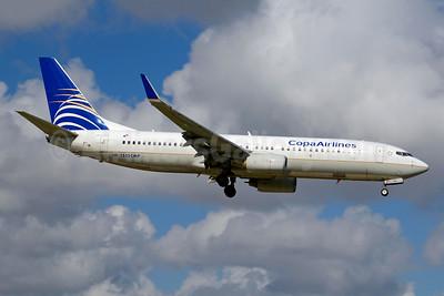 Copa Airlines Boeing 737-8V3 WL HP-1535CMP (msn 35126) MIA (Jay Selman). Image: 404047.