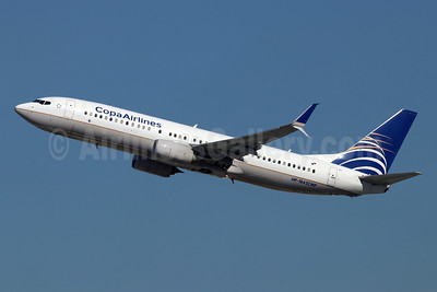 Copa Airlines Boeing 737-8V3 SSWL HP-1842CMP (msn 40784) LAX (Michael B. Ing). Image: 950126.