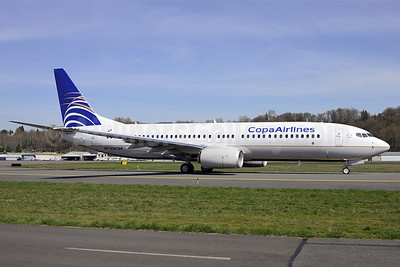 Copa Airlines Boeing 737-8V3 HP-1836CMP (msn 40782) BFI (Steve Bailey). Image: 922761.