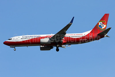Copa Airlines' Panama National Football Team livery